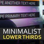 MinimalistLowerThirdsMarketplaceThumbnail